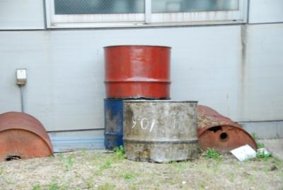 ドラム缶の確保